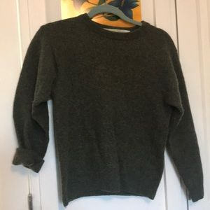 Sweaters - Authentic Irish Wool Olive Green Wool Sweater ☘️